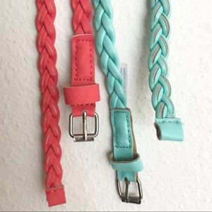 Two Braided Waistbelts